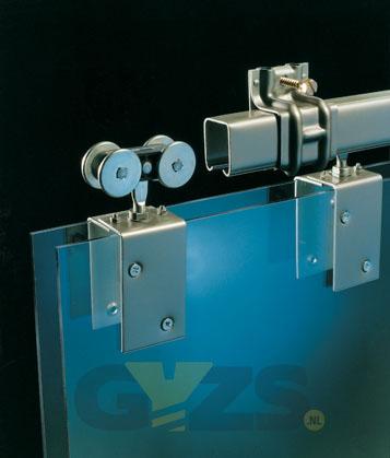 Een schuifdeursysteem in een notendop