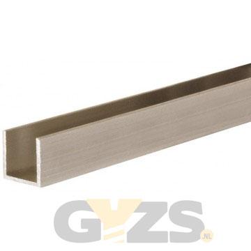 Het materiaal van deze schuifdeur geleiderail is aluminium. De ...