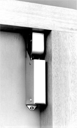 Een designer deuropvanger van RVS – Dictator type 1400