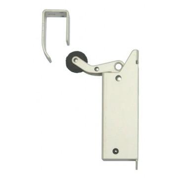 De deuropvanger voor binnenmontage bij naar buiten draaiende deuren