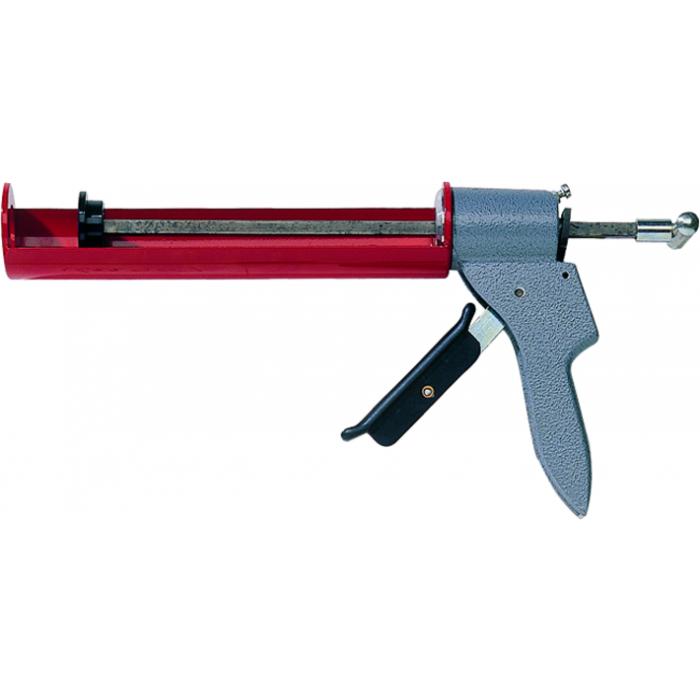 Zwaluw kitpistool metaal HK 40 rood