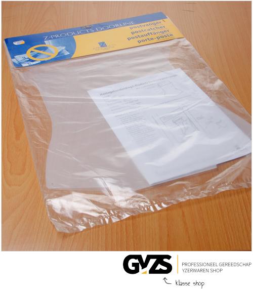 Gezu Postkeeper transp/wit