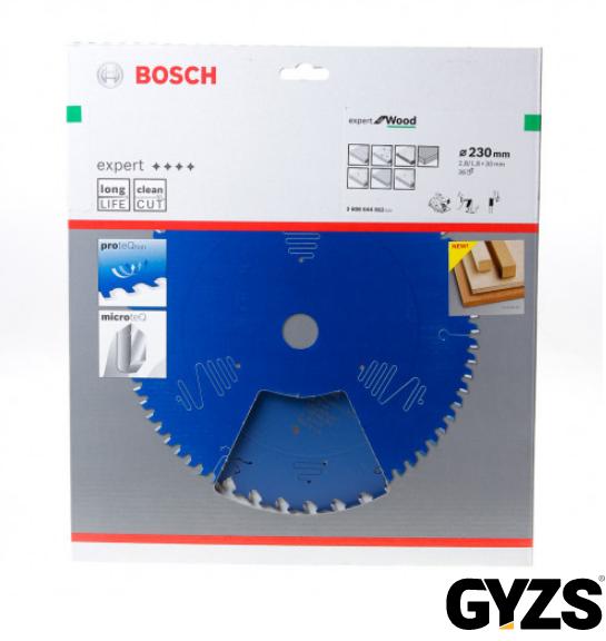 Bosch Cirkelzaagblad Wood 230x30x2,8 36T