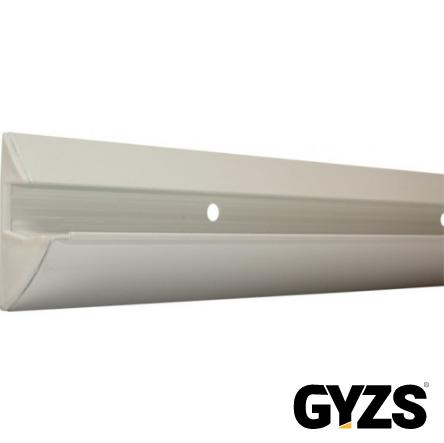 Schadébo wandplankdrager Muroy aluminium wit gelakt 100cm