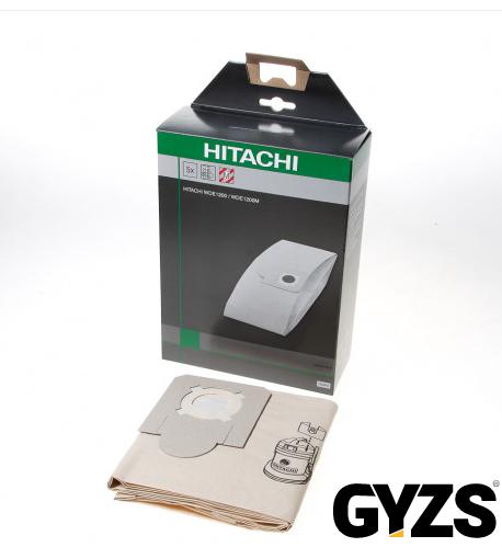 Papieren stofzuigerzak wde Hitachi 750442