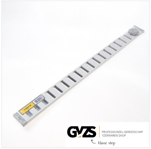 GAVO schuifrooster met vliegengaas 500 x 40mm