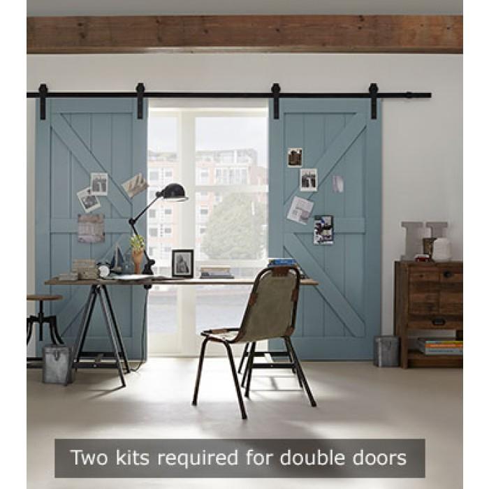 Loft schuifdeur binnen handbereik. Zo makkelijk is het dus!