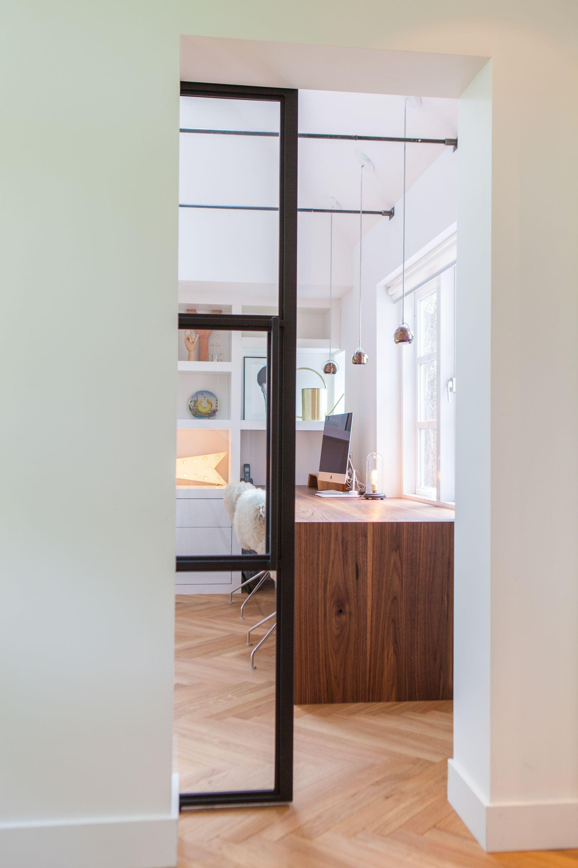 Een stalen binnendeur van VERA PORTA? Gebruik het Argenta Proslide schuifdeursysteem