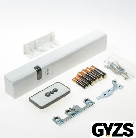 Axa remote 2.0 met raamopener wit voor draairaam buitendraaiend rechts SKG
