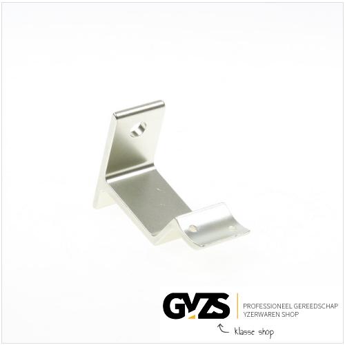 Hermeta Leuninghouder stokschroef, aluminium/zilver 3543-02