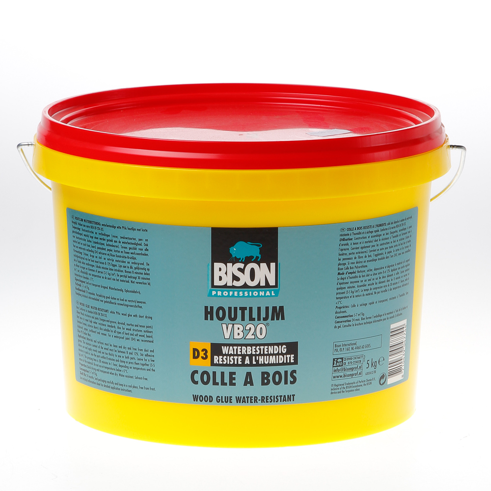 Bison Houtlijm Waterb Pr 1339305 5Kg D3