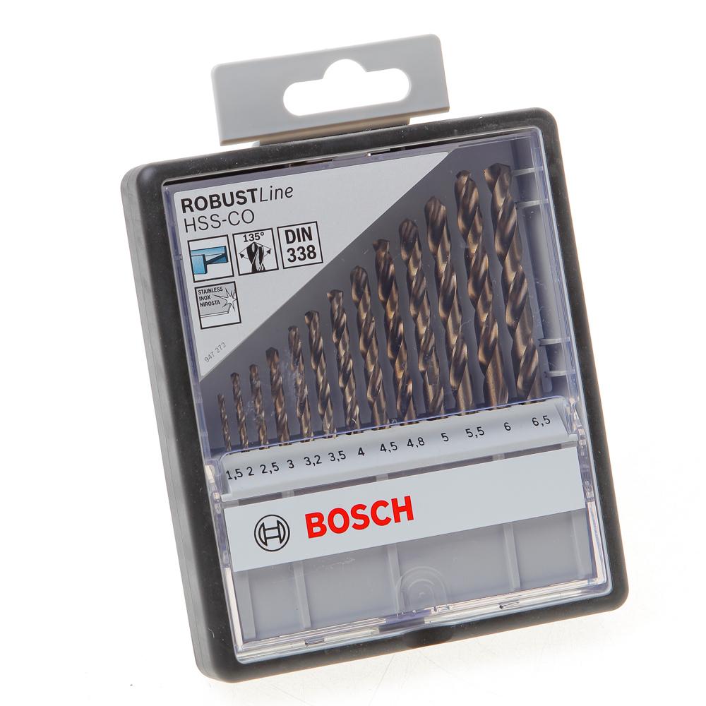Metaalborencass. HSS-C0 1,5-6,5mm 135 13dlg (per stuk)