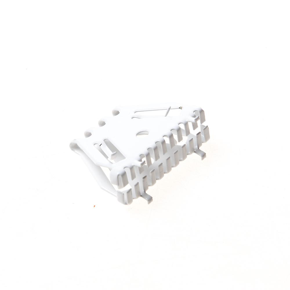 Bijenbekje stootvoegrooster 50mm RAL 9010 Zuiver wit