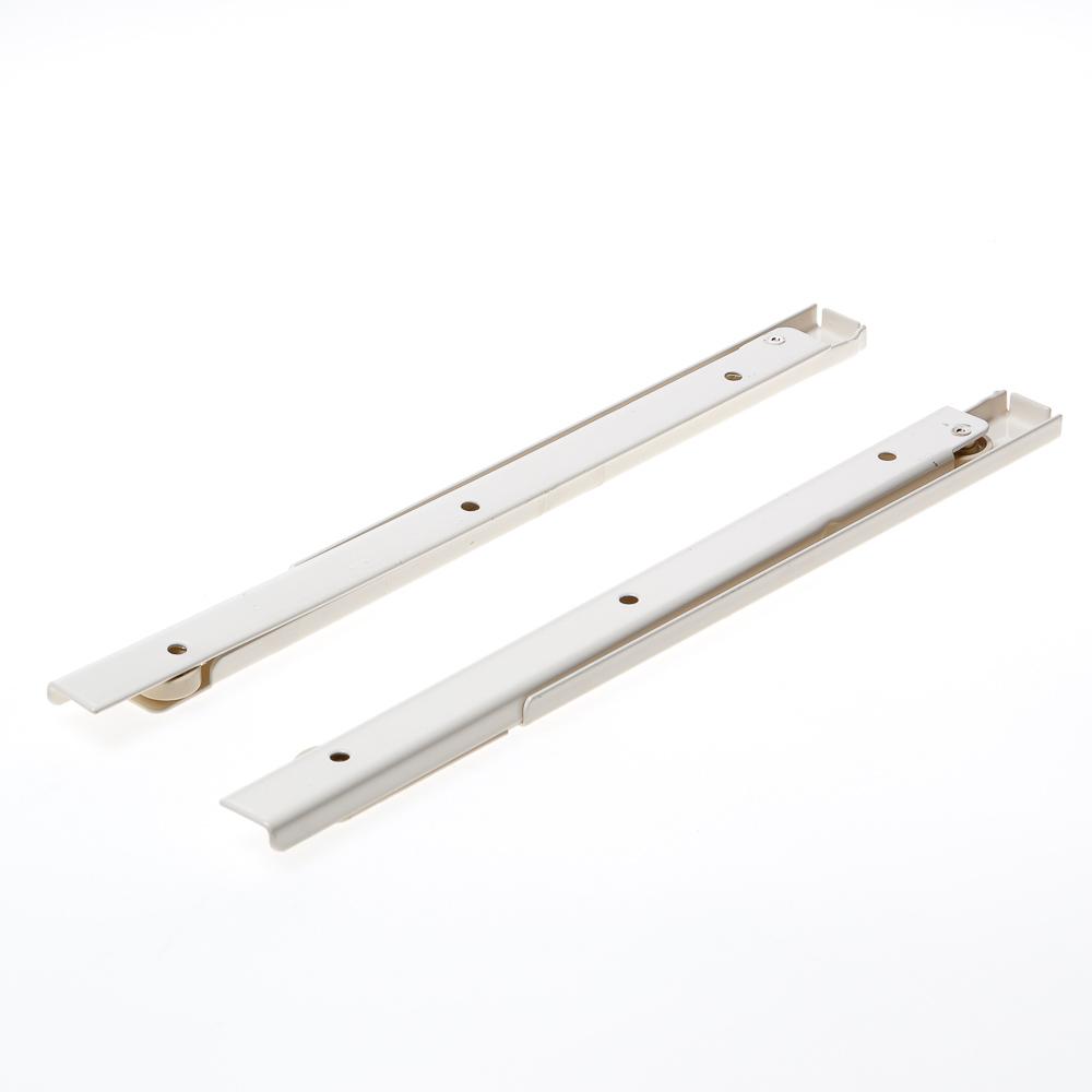Ladegeleider enkel uittrekbaar, staal gelakt 1211-03 30cm (per paar)