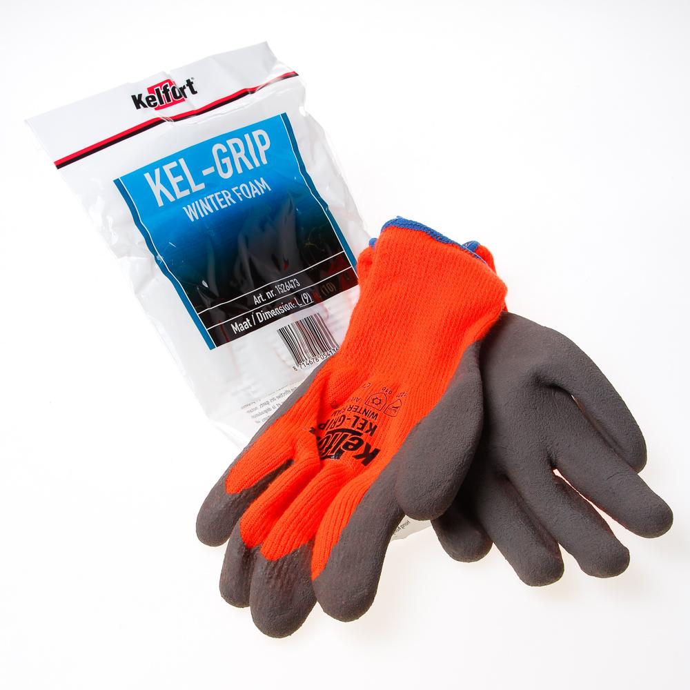 Handschoen kel-grip winter L (per paar)