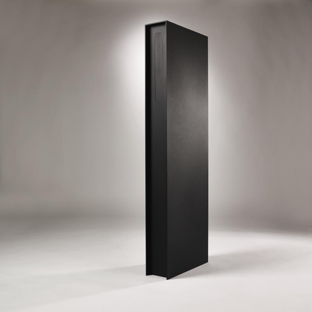 Albo brievenbus Fenix 536 gelakt RAL 9005 mat zwart