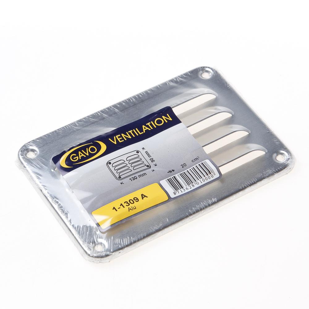 Schoepenrooster, aluminium 13x9 (per stuk)