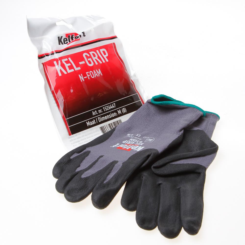 Kelfort Werkhandschoen kel-maxgrip n-foam m-8 (per paar)