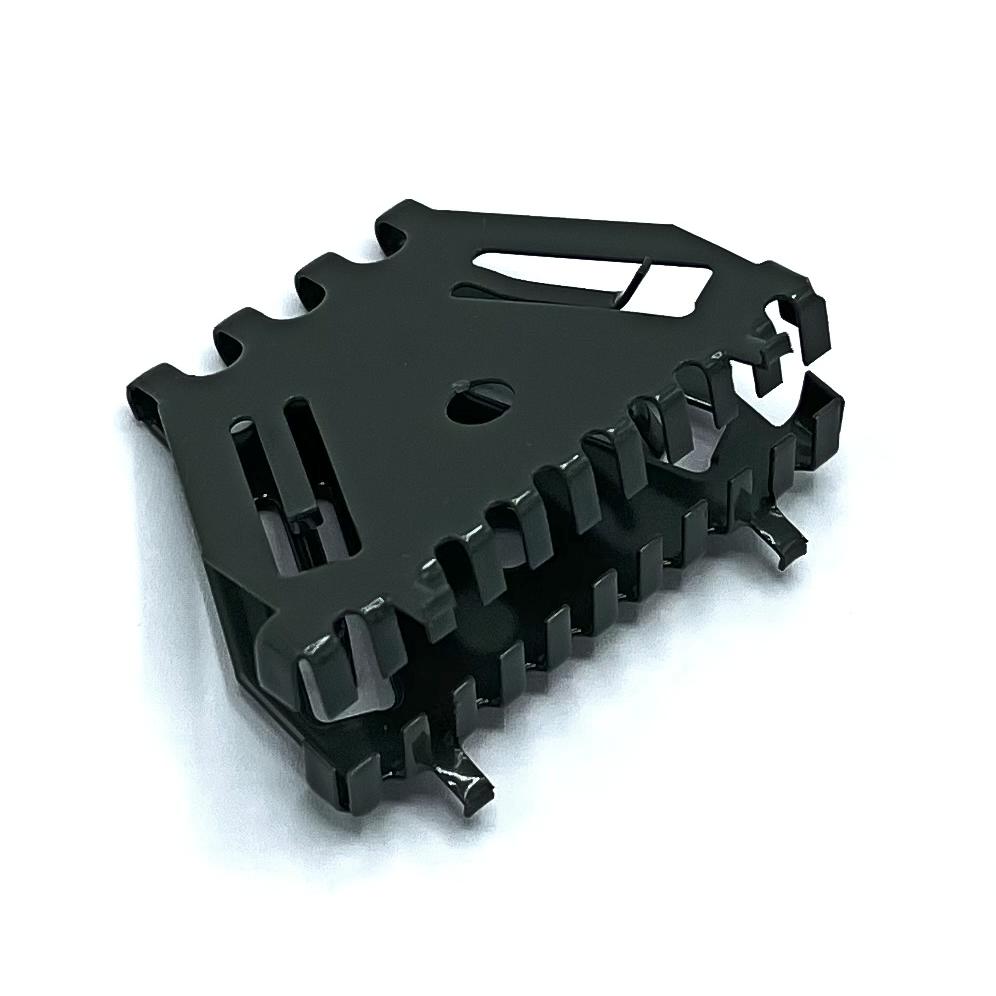 Bijenbekje stootvoegrooster 50mm RAL 7010 Canvas grijs