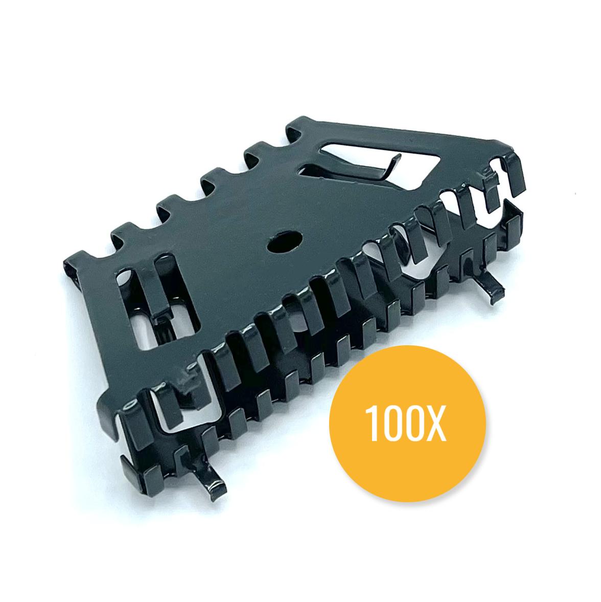 Bijenbekje 70mm RAL 7016 Antraciet (Set van 100 stuks) Stootvoegrooster