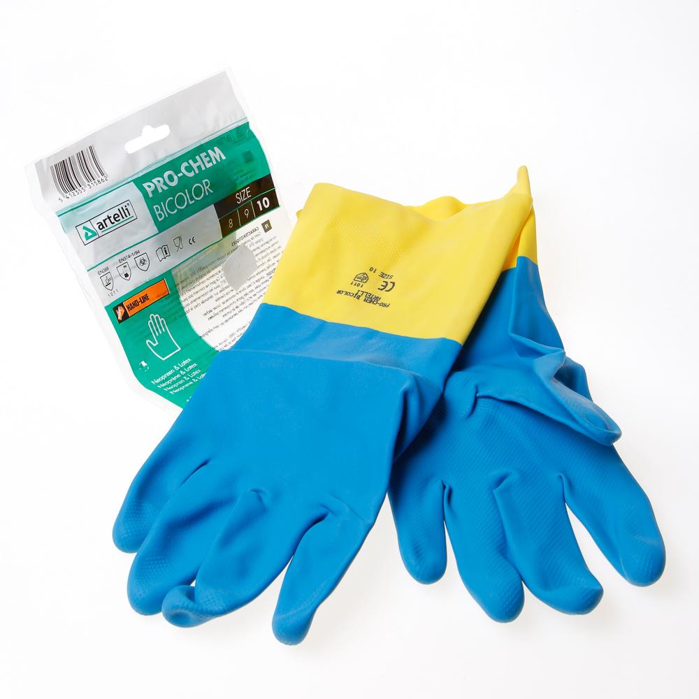 Artelli Handschoen chemisch bestendig, gelamineerd maat 10 (per paar)
