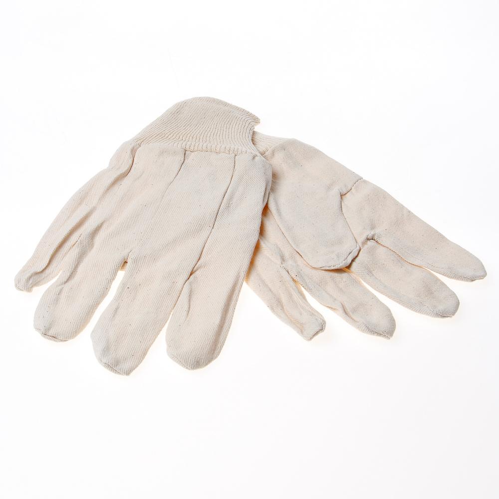 Handschoen katoen m.manchet (per 10 paar)