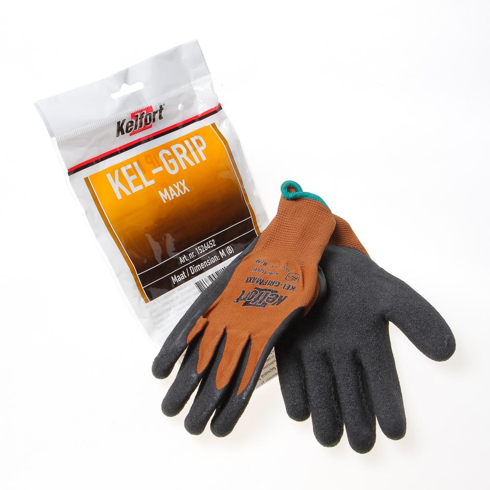 Kelfort Werkhandschoen grip maxx m-8 (per paar)