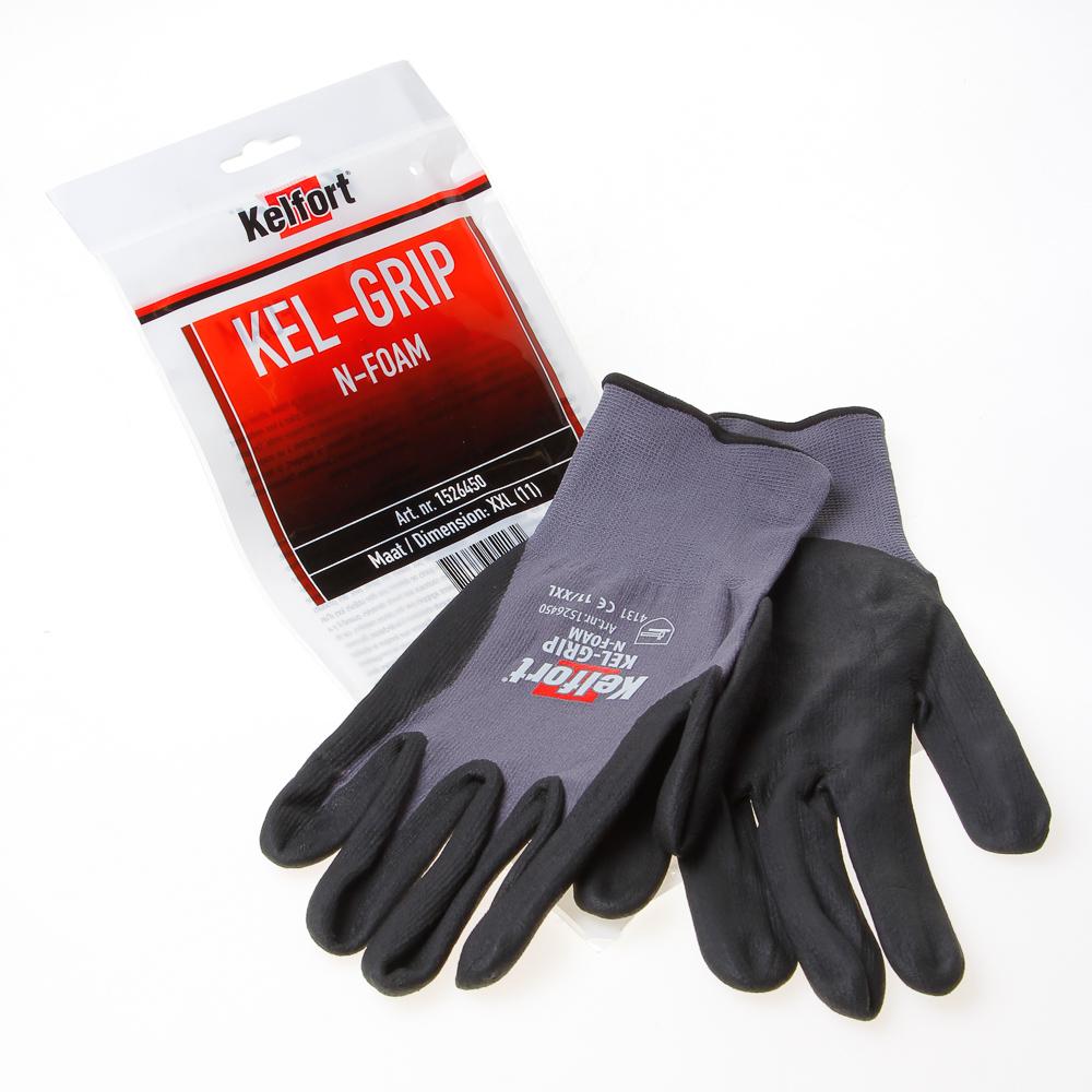 Handschoen kel-maxgrip n-foam xxl-11 (per paar)