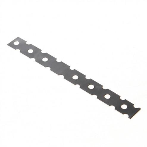 GB Lijmkoppelstrip RVS 200 x 22mm 21212