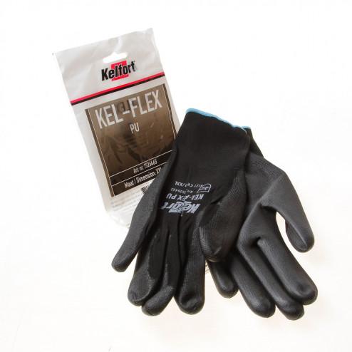 Kelfort Werkhandschoen flex pu zwart XXL(11)