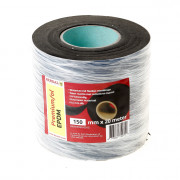 Berdal Epdm folie zwart uv-bestendig 150 x 0.5mm x 20m