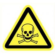 ATV Safety Giftige stof 90mm Vinyl 560
