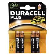 Duracell Batterij potlood 1.5v lr03 aaa blister van 4 batterijen