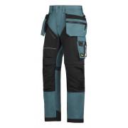 RuffWork broek+ holsterzak. petrol/zwart