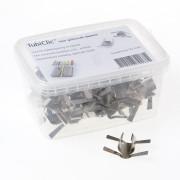 Wymefa Tubiclic Universeel buisklem RVS voor diameter 16-24mm doos van 50 klemmen
