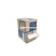 Roerstaafje plastic wit doos van 2000 staafjes