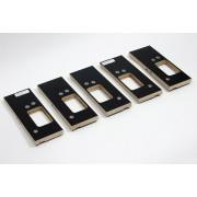 Riens Scharnierfreesmal voor deuren en ramen zonder tochtstrip set 5-delig 89 x 89mm