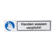 Artelli Sticker Handen wassen verplicht d5007