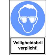 Artelli Sticker Veiligheidsbril verplicht!