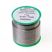 Draadsoldeer sn50/pb50 harskern 3mm