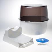 Kelfort Dispenser papierrol industrie kunsstof wit