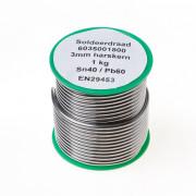 Draadsoldeer sn40/pb60 harskern 3mm