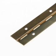 Pianoscharnieren ijzer/verkopert - lengte 3500cm