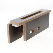 Riens Freesmal 600 serie voorplaat/krukgat/pcgat deurdikte 40mm