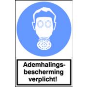 Artelli Sticker Ademhalingsbescherming verplicht!