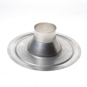 Dyka Kiezelbak aluminium 100mm