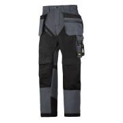 RuffWork broek+ holsterzak. grijs/zwart