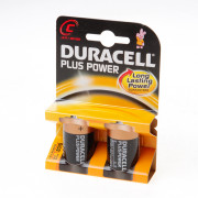 Duracell Batterij Engelse staaf 1.5v lr14 C blister van 2 batterijen