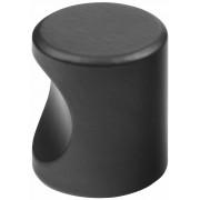 Cilinderknop 25x26mm m4 zwart 3732-70