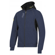 Snickers zipped hoodie donkerblauw maat L